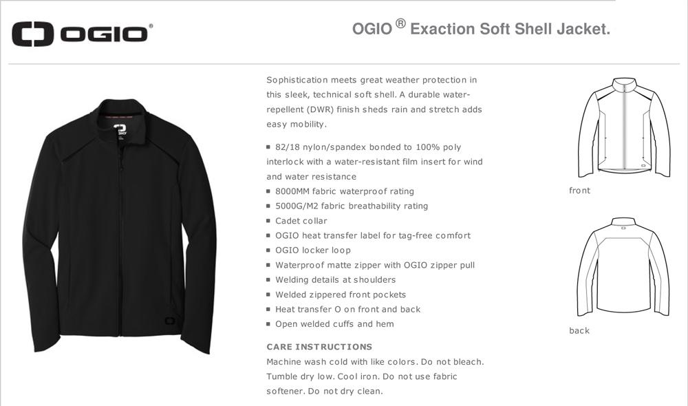 OGIO Soft Shell Jacket